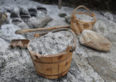 Băile Figa (Bistrița-Năsăud County) — ethnoarchaeological experiment — extracted salt