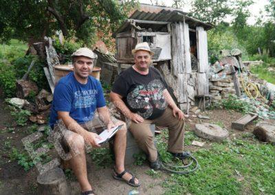 Băile Figa (Bistrița-Năsăud County) — interviewing Vasile Motânțean