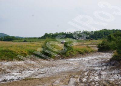 Blăjenii de Jos (Bistrița-Năsăud County) — saliferous landscape