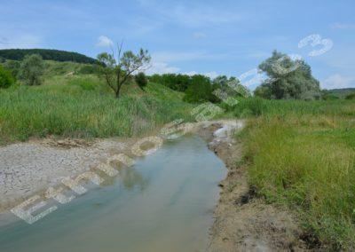 Nireș (Cluj County) — salt muds